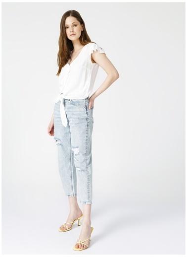 Limon Company Limon Kadın Beyaz Gömlek Beyaz